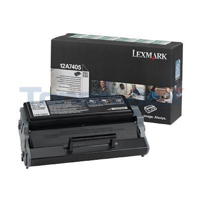 LEXMARK E321 TONER CARTRIDGE RP 6K